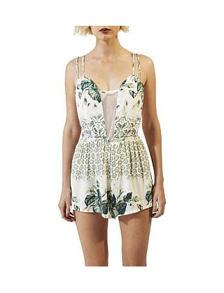 b91ce96b4b6 Emerald Oasis Playsuit Special Offer