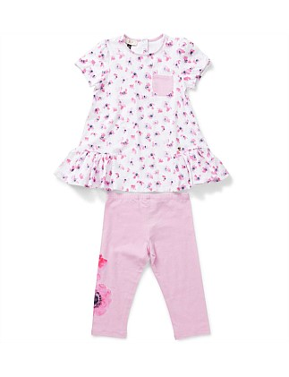 Girls 2 Piece Set Top & Leggings