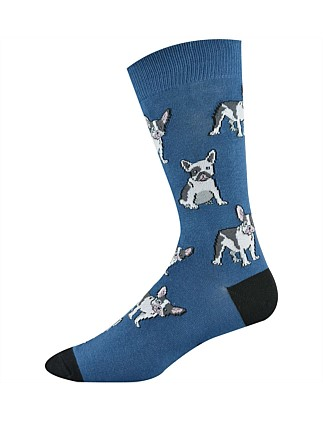 French Terrier Sock