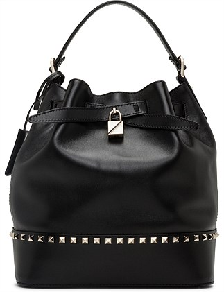 Vitello Lux Lovestud Bucket Bag