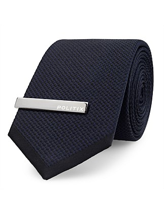 Joen Formal Tie With Tie Bar