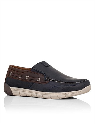 Bahama Moc Toe Nautical Slip On Casual