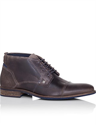 Digby Mens Leather Dress/Casual Lace Up Boot