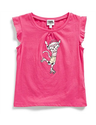 Girls Chuopette Printed Tee (2-6Y)