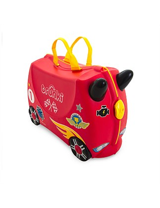 Rocco Race Car Ride on Suitcase