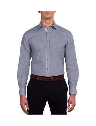 Greeves Star Geo Print Slim Fit Shirt