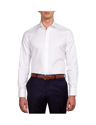 Self Stripe Contemporary Fit Shirt