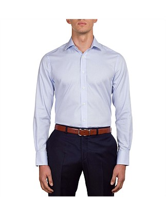 Micro Check Contemporary Fit Shirt