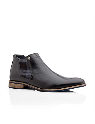 Drake Mens Leather Dress/Casual Chelsea Boot