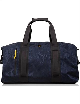 Digital camo printed nylon holdall. Armani Jeans 07ca58d143063