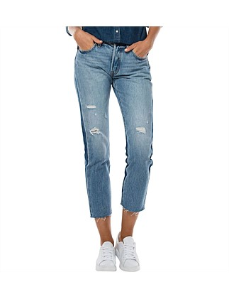501ct Crop Two Tone Jean