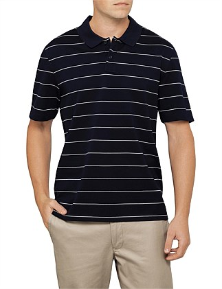 PENCIL STRIPE S/S POLO