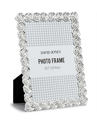 f1af7449a405 Wicker Effect Photo Frame 5x7