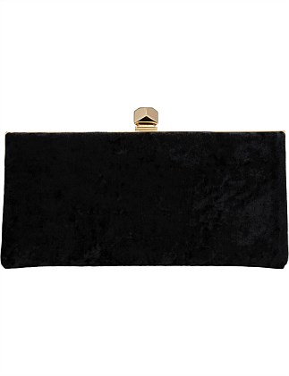 CELESTE/S CUV CELESTE CLUTCH SMALL CRUSHED VELVET