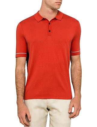 COTTON KNIT 2 TONE POLO