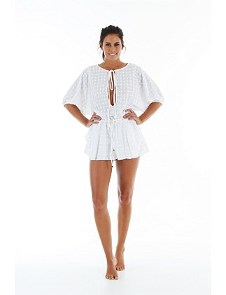 COTTON ROMPER