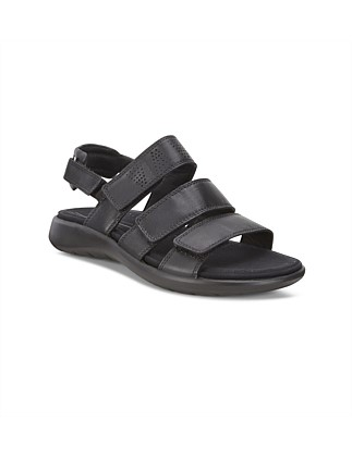 Soft 5 Sandal Black Droid