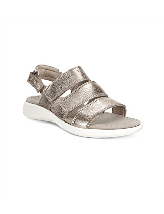 Soft 5 Sandal Warm Grey Lyra Metallic