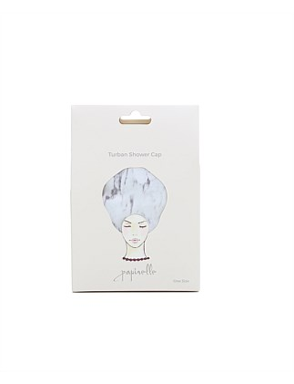 Turban Shower Cap
