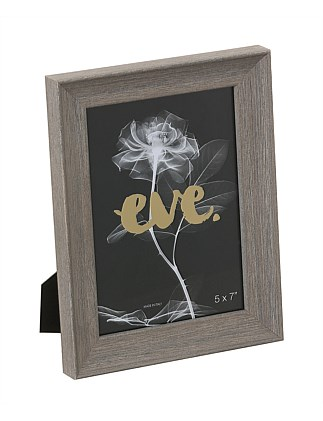 "Riviera Photo Frame 5x7""/13x18cm Grey"