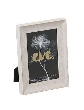 "Riviera Photo Frame 4x6""/10x15cm White"