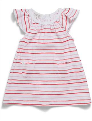 GIRLS PAINTERLY DRESS (000 - 0)