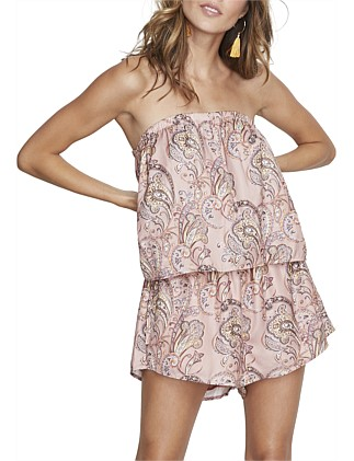 Babylon Strapless Playsuit