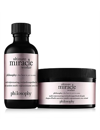 ultimate miracle worker pure-retinol oil pads