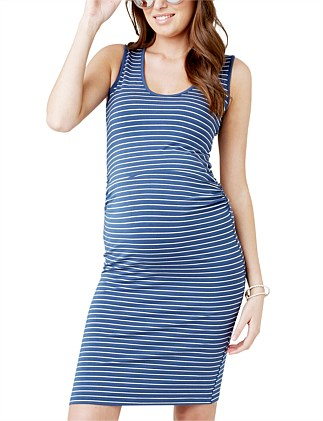 Mia Stripe Tank Dress