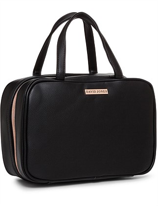 David Jones Travel Bag Black Pebble