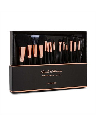 14 Premium Cosmetic Brush Set
