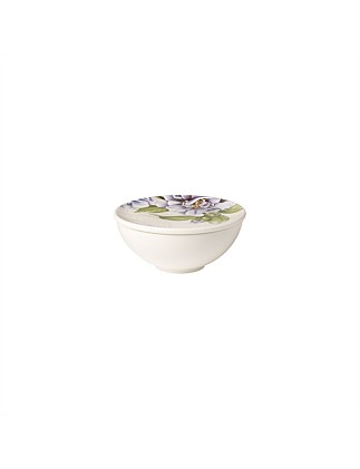 QUINSAI GARDEN GIFTS DECORATIVE BOWL WITH LID