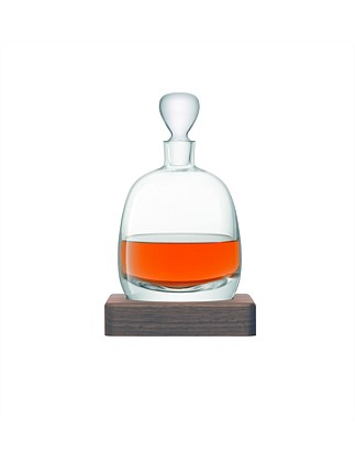Whisky Islay Decanter & Walnut Base