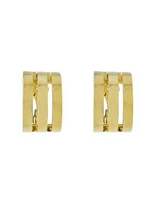 Trident Clip Earring