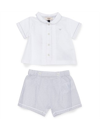 2PC SHIRT/SHORT SET