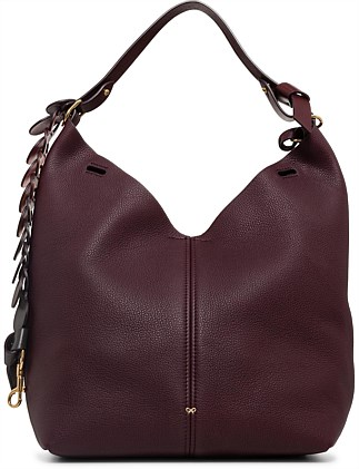 The Bucket Small Circle In Mini Grain Shoulder Bag
