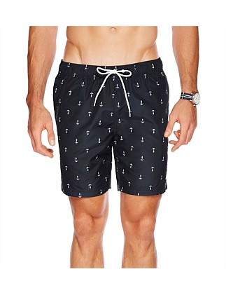 "18"" Anchor Tri-block Swim Short"