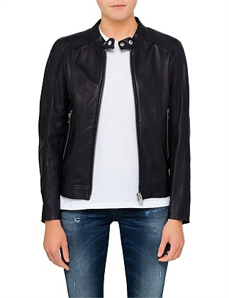 LORY LEATHER JACKET