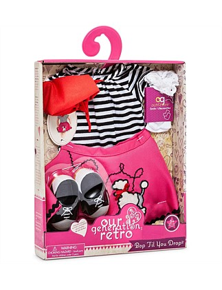 Our Generation Poodle Skirt Set