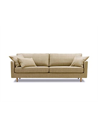 'Polly' 3.5 Seater Sofa - Nixon Sunshine Fabric