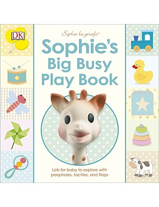 Sophie la Girafe - Sophie's Big Busy Play Book