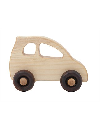 Wooden Story Car - Eco Car