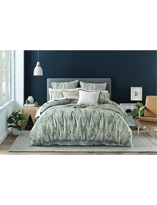 $FERN KING BED QUILT COVER