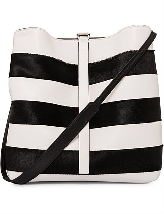 Stripe FRAME SHOULDER BAG