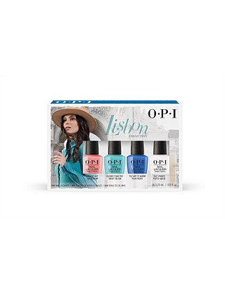 NAIL LACQUER MINI 4 PACK - LISBON COLLECTION