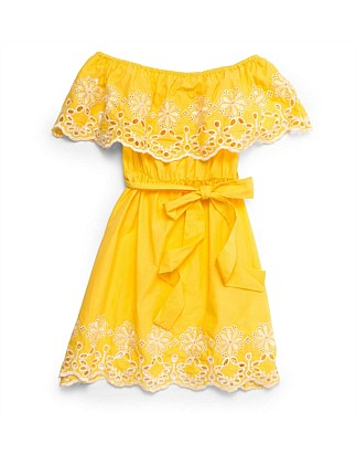 SUNNY BRODERIE DRESS