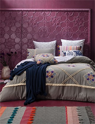ANNETTE QUILT COVER SET KING