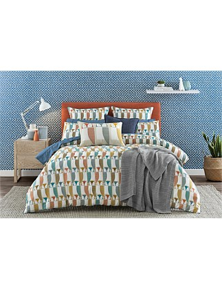 Barnie Owl King Bed Quilt Cover