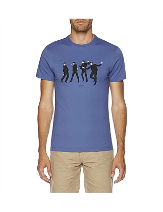 JUMPING BEATLES GRAPHIC TEE