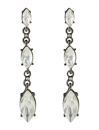 TRES CHIC DROP EARRING